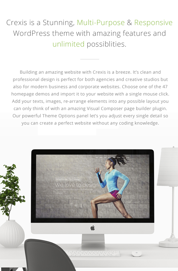 Crexis - Responsive Multi-Purpose WordPress Theme - 1