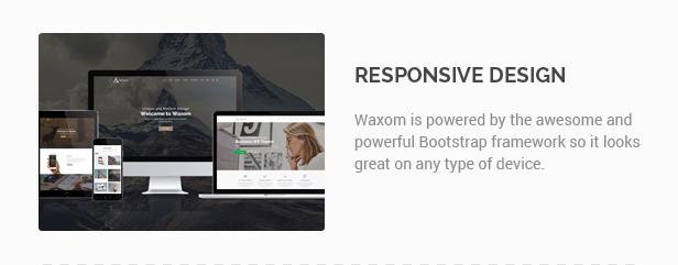 Waxom - Clean & Universal WordPress Theme - 9